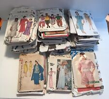 Vintage Women's Clothes Sewing Patterns Lot Of 55 McCall's, Vogue One Others