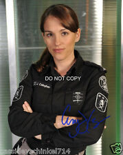 Amy Jo Johnson as Jules Callaghan on Flashpoint reprint signed photo #3 RP