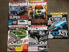 Street Machine Magazines Nov 2010, Fords 16, July 2013, Dec 2009, Oct 2012