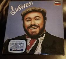 "Luciano Pavarotti ""Luciano"" LP Record Vinyl Sealed 1982 London Pav 2013"