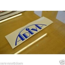 ADRIA Adiva Caravan Name Sticker Decal Graphic - SINGLE