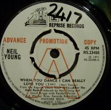 """NEIL YOUNG """"WHEN YOU AFTER THE GOLDRUSH"""" 'PROMO 71 UK ORIG. RS.23488"""