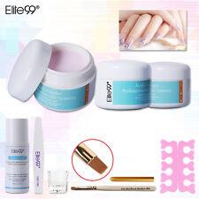 Elite99 Acrylic Nail Art Tools Kit Powder Liquid Dappen Dish No.6 Brush Pen File
