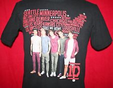 ONE DIRECTION US Map Concert Tour T-SHIRT Small 1D Harry Styles Niall Horan