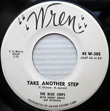THE BLUE CHIPS rock pop VG++ 45 TAKE ANOTHER STEP b/w A SONG AND A PRAYER  F1268