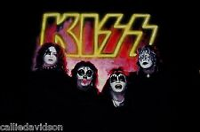 KISS 1974 1st Album Outtake Photo Official T-Shirt Kiss Depot 1994 XL Gene Ace