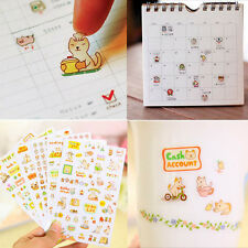 Fashion Lovely Cute Memo Diary Scrapbooking Decoration Cat Stickers