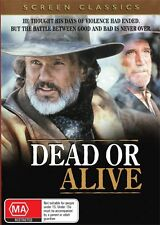DEAD OR ALIVE - KRIS KRISTOFFERSON & SCOTT WILSON - NEW & SEALED DVD