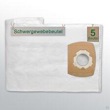 5 Schwergewebebeutel passend für SHOPVAC Classic 20 Staubbeutel Tüten Beutel