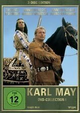 Karl May Collection I - 3-DVD Box Set Lex Barker, Herbert Lom, Alfred Vohrer NEW