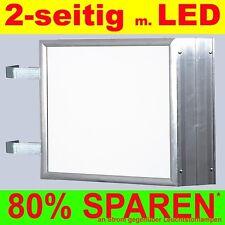 LED Insegna al neon 2 lati illuminato 700 x 1000 x 138 mm Boom Scatola naso