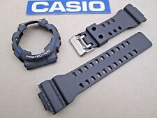 Genuine Casio G-Shock GA-110TS GA-110TS-8A2 watch band & bezel Fits GA-100