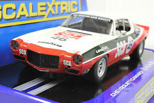 SCALEXTRIC C3316 70' CHEVROLET CAMARO WITH WORKING LIGHTS NEW 1/32 SLOT CAR DPR