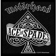 Motorhead Ace Of Spades Logo Woven Fabric Patch (Lemmy)