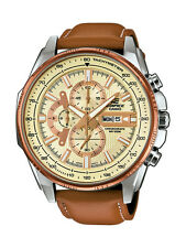 Casio Edifice Uhr EFR-549L-7AVUEF Analog Braun