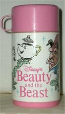 WALT DISNEY ~ BEAUTY AND THE BEAST ~ VINTAGE THERMOS