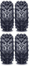 4 Interco Swamp Lite ATV Tires Set 2 Front 22x8-10 & 2 Rear 25x12-9 SwampLite
