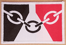 1 NEW Black country badge West Midlands Industrial glasswork badges patches flag