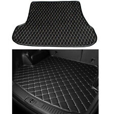 For Toyota Camry 06-11 Leather Car Cargo Rear Trunk Mat Boot Liner TrayCarpet