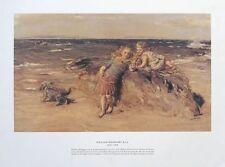 Summer Breeze - William McTaggart -45x59cm, vintage children poster