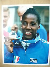 Original Press Photo- World Championships FIONA MAY, Long Jump of 7.11 Meters