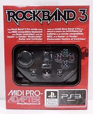 PS3 Rock Band 3 MIDI PRO Adapter - NEW SEALED - PS4 Rock Band 4 compatible!!