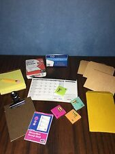 OOAK 1:6 Scale Office Supplies; For Barbie Desk, Diorama