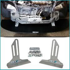 DevSport Front Bumper Wind Splitter Support Brackets (92-00 Civic Del Sol) EG EK