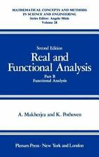 Real and Functional Analysis: Part B: Functional Analysis-ExLibrary