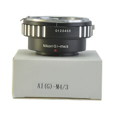 For Nikon G AF-S AI Mount Lens to Micro 4/3 M4/3 M43 G1 G2 AI(G) to M4/3 Adapter