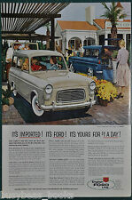 1959 FORD ESCORT advertisement, British Ford import, Escort wagon