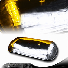 32 LED Amber/White Magnetic Roof Top Emergency Signal Flash Tow Strobe Light E
