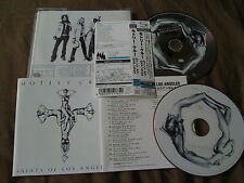 MOTLEY CRUE / saints of los angeles /JAPAN LTD CD & DVD OBI