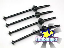 HARD STEEL FRONT & REAR CVD SWING SHAFT FOR HPI MINI SAVAGE XS FLUX