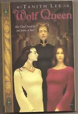 TANITH LEE Wolf Queen.  1st US paperback. Claidi series. YA fantasy.