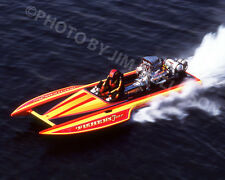 DRAG RACING DRAG BOAT PHOTO TOP FUEL HYDRO FISHERS FEVER HIPPIE GEORGE 1980