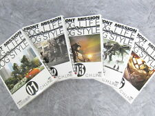 FRONT MISSION DOG LIFE & DOG STYLE Comic Set 1-5 C.H.LINE Y. OOTAGAKI Book *