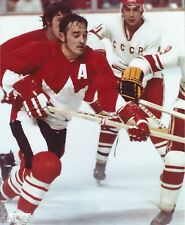 Team Canada Mens 1972 Canada Cup Hockey Frank Mahovolich Action Photo OOP