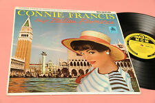 CONNIE FRANCIS LP SINGS ITALIAN FAVORITES ORIG UK 1960 MONO LAMINATED COVER !!!!