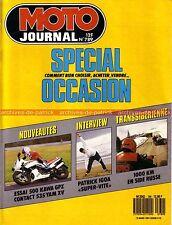 MOTO JOURNAL 789 KAWASAKI GPZ 500 YAMAHA XV 535 VIRAGO DNIEPR 16 MBK 1987