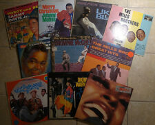 LOT OF 10 FUNK SOUL MOTOWN AND DISCO VINYL RECORDS LPs 50s 60s & 70s