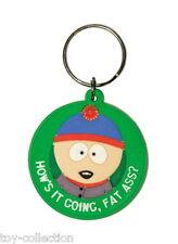Stan - Fat Ass - Southpark - Gummi Schlüsselanhänger / rubber keychain