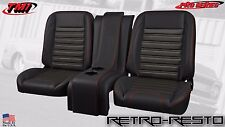 """1967-87 Chevy Pickup - """"Sport"""" Seat Complete Bucket Seat Kit w/ Console - CUSTOM"""
