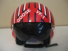 "TOP GUN WINGMAN ""GOOSE"" FLIGHT HELMET MOVIE PROP PILOT DECAL STICKERS STRIPE KIT"