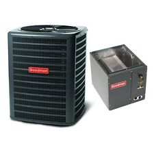 2.5 Ton 14 Seer Goodman Air Conditioning Condenser and Coil GSX140301 CAPF3137B6