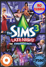 The Sims 3 Late Night (PC&Mac, 2010) Origin Download Region Free