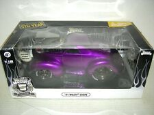 41 WILLYS COUPE LIQUID PURPLE 5th. ANNIVERSARY  EDITION. 1:18SC INT IN BOX