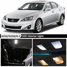 16x White Interior LED Lights Package for 2006-2012 Lexus IS250 IS350 ISF + TOOL