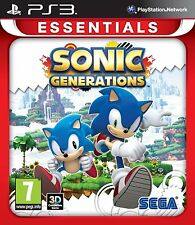 Sonic Generations para PAL PS3 (nuevo Y Sellado)