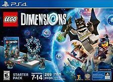 LEGO Dimensions: Starter Pack (Sony PlayStation 4, 2015) BRAND NEW!